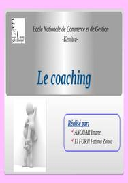 Un exposé du coaching
