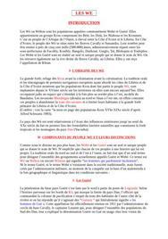 Organisation socio-politique et économique des wè
