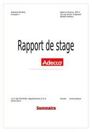 Rapport de stage gea - Rapport de stage cabinet d expertise comptable ...