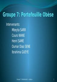 Etude de cas d'un portefeuille obèse sur une matrice bcg