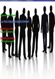 Le recrutement au niveau grh