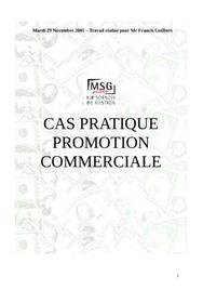 Promotion commerciale