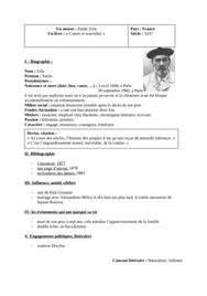 Biographie emile zola