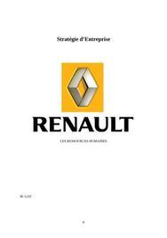 Renault : gestion des ressources humaines