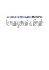 Management au féminin