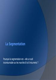 Segmentation marketing