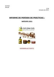 Exemple rapport de stage espagnol