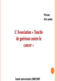 L'association touche de guerison depistage du cancer du sein