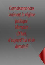 Le régime politique marocain