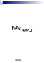 Plan d'affaire wave gym