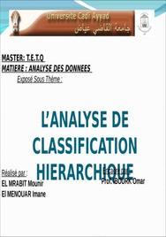 La classification des donées