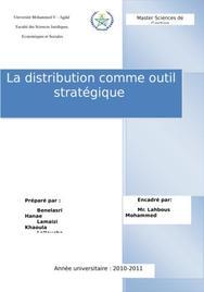 La distribution comme outil stratégique