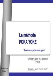 La gestion de la qualité : le poka yoké