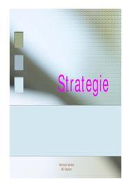 Les principes de la strategie