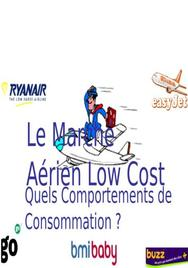 Le marché aérien low cost