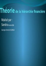 Financement hierarchique
