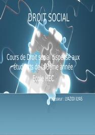 Droit social au maroc