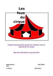 Evenementiel sportif cirque