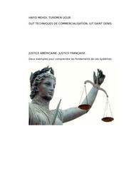Justice américaine, justice francaise