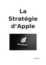 Stratégie Apple