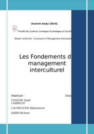 Le management interculturel