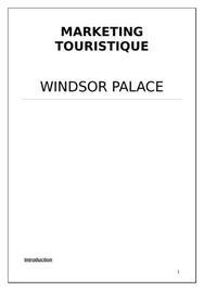 Etude sur windsor palace