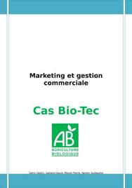 Bio tech cas marketing