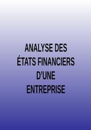 Analyse financière d'une entreprise