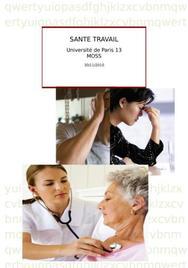 Santé au  travail : management
