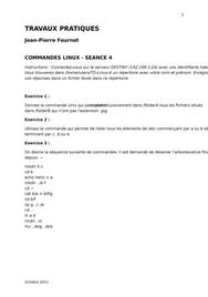 Exercices commandes linux