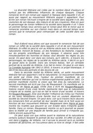 Dissertation de roman