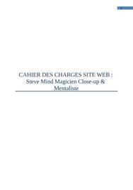 Cahier des charges pour le lancement d'un site web