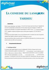 La comédie du langage - Jean Tardieu