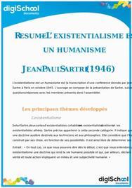 L'existentialisme est-il un humanisme ? Jean Paul Sartre