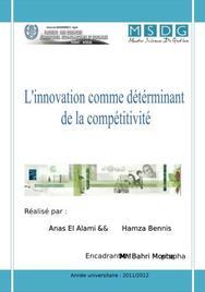 L'innovation et la compétitivité des entreprises
