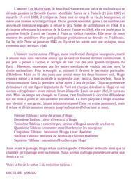 """""""Les Mains Sales"""" de JP Sartre - Fin de la scène 3 - Troisième tableau"""