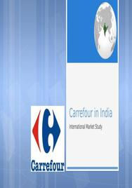 Carrefour india marketing presentation