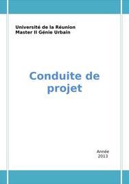 Méthodologie pour la conduite de projet