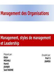 Management, styles du management et leadership