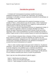 Rapport de stage fiduciaire maroc
