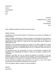Doc - Lettre de motivation notaire