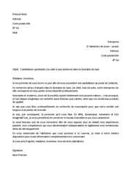 Doc - Lettre de motivation luxe