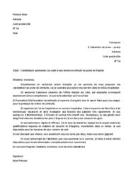 Doc - Lettre de motivation hopital