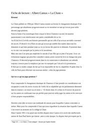 Fiche de lecture - La Chute de Jean-Paul Sartre