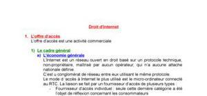 Droit d'internet : Ecommerce