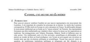 Candide de Voltaire, une oeuvre de son temps