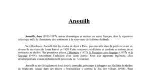 Anouilh Jean