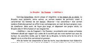 Gnathon de La bruyère