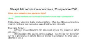 Compte-rendu salon e-commerce Paris septembre 2008