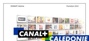 Rapport de stage d'exécutant Canal +